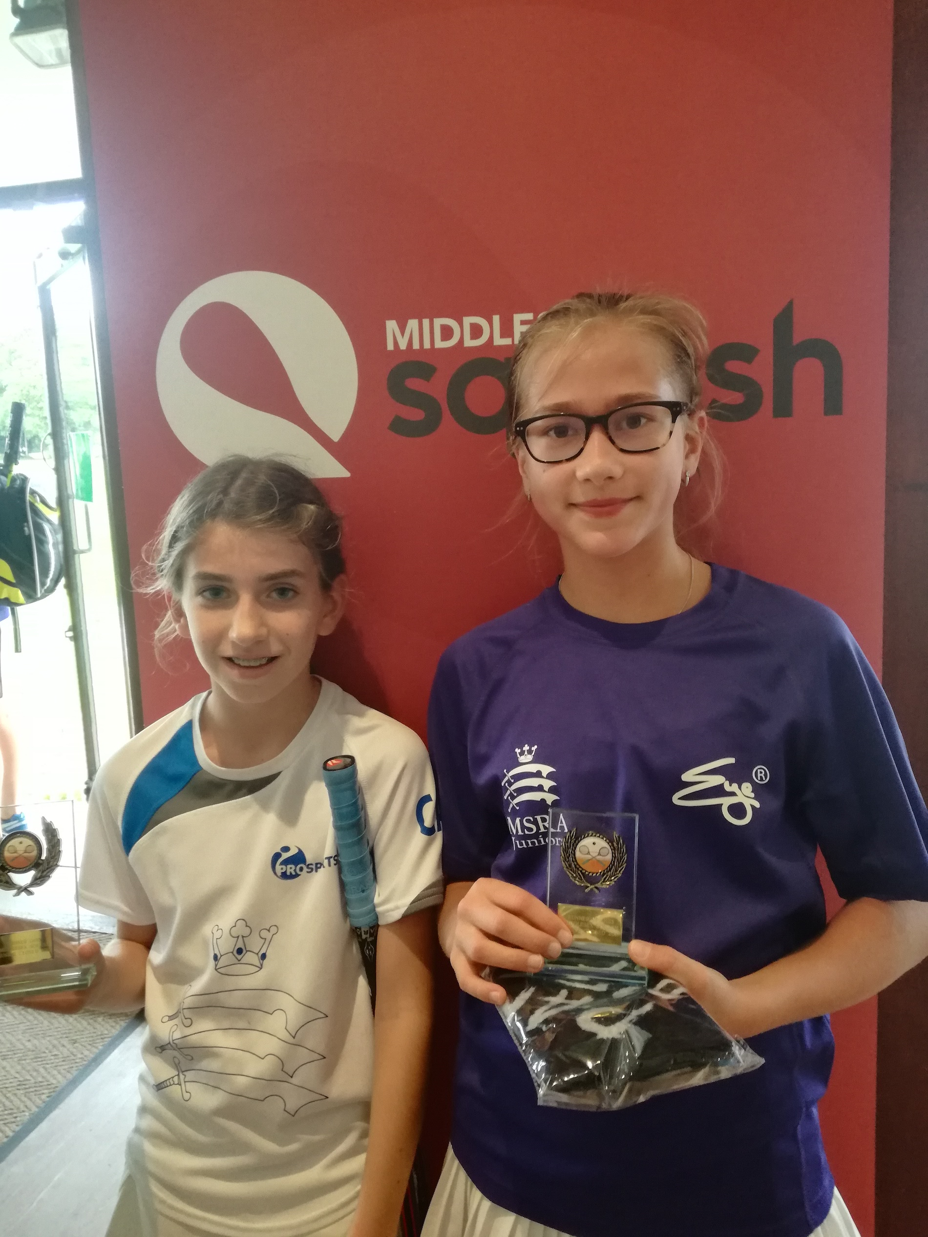 Middlesex Junior Closed a Smash at Southgate 23/24 September 2017