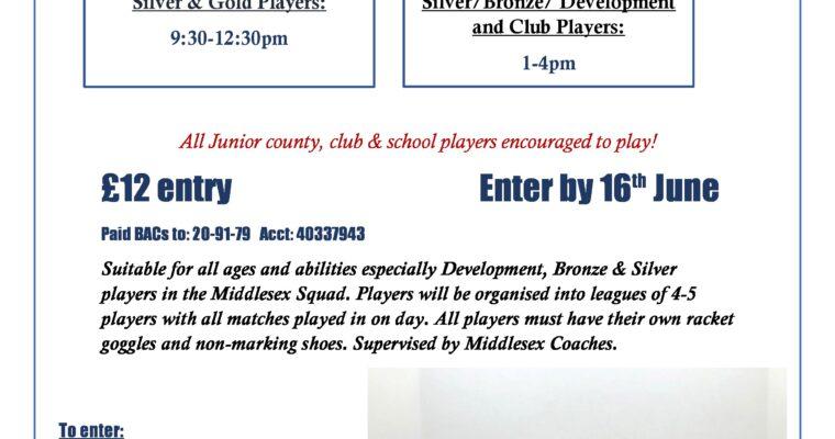 Middlesex Junior Squash Leagues