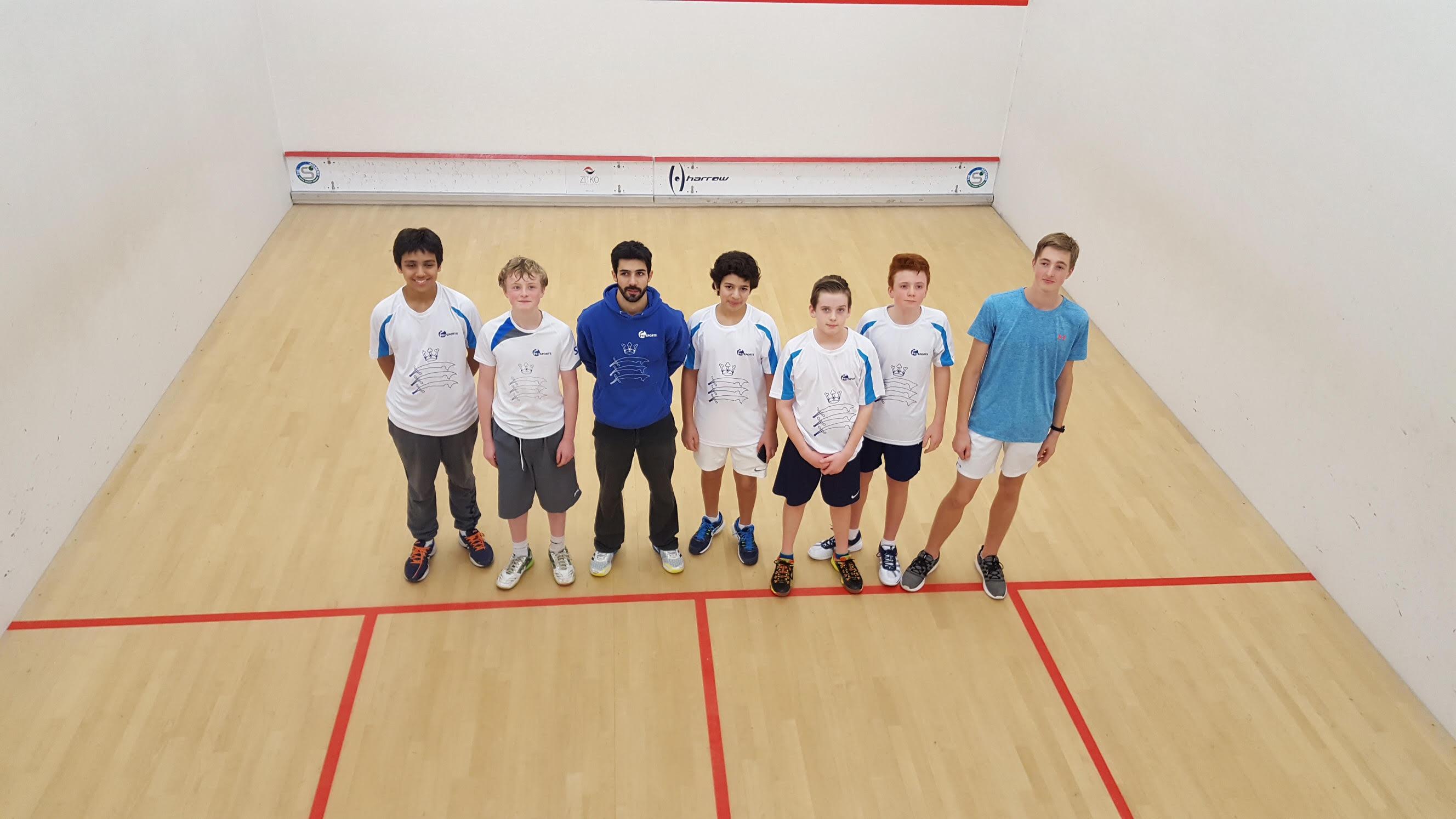 Middlesex Junior Squash ICC Stage 2 Nov 17