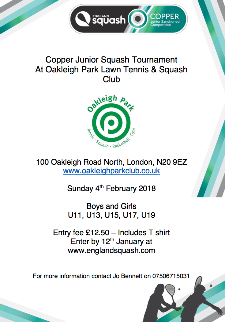 Copper Tournament Feb 18