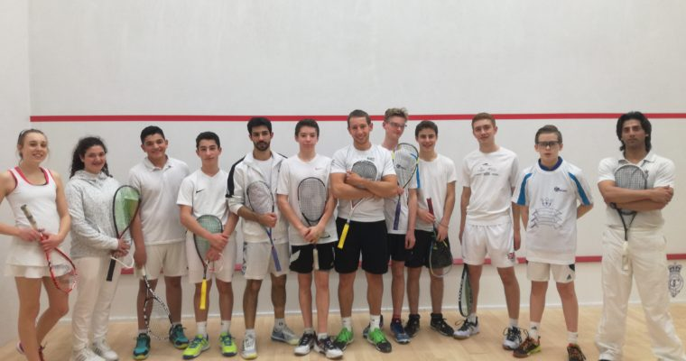 """Middlesex Juniors Show """"How it's Done"""" at the County Training Sessions this weekend."""