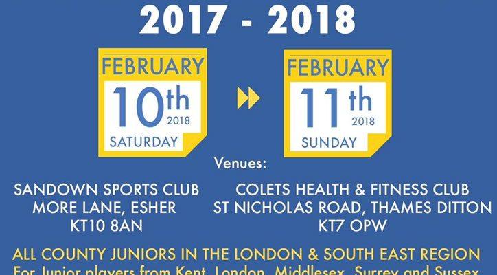 London & South East Regional Championship 2017/18