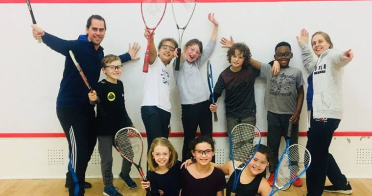Haringey/Highgate Primary School Squash Festival at Stormont Squash Club