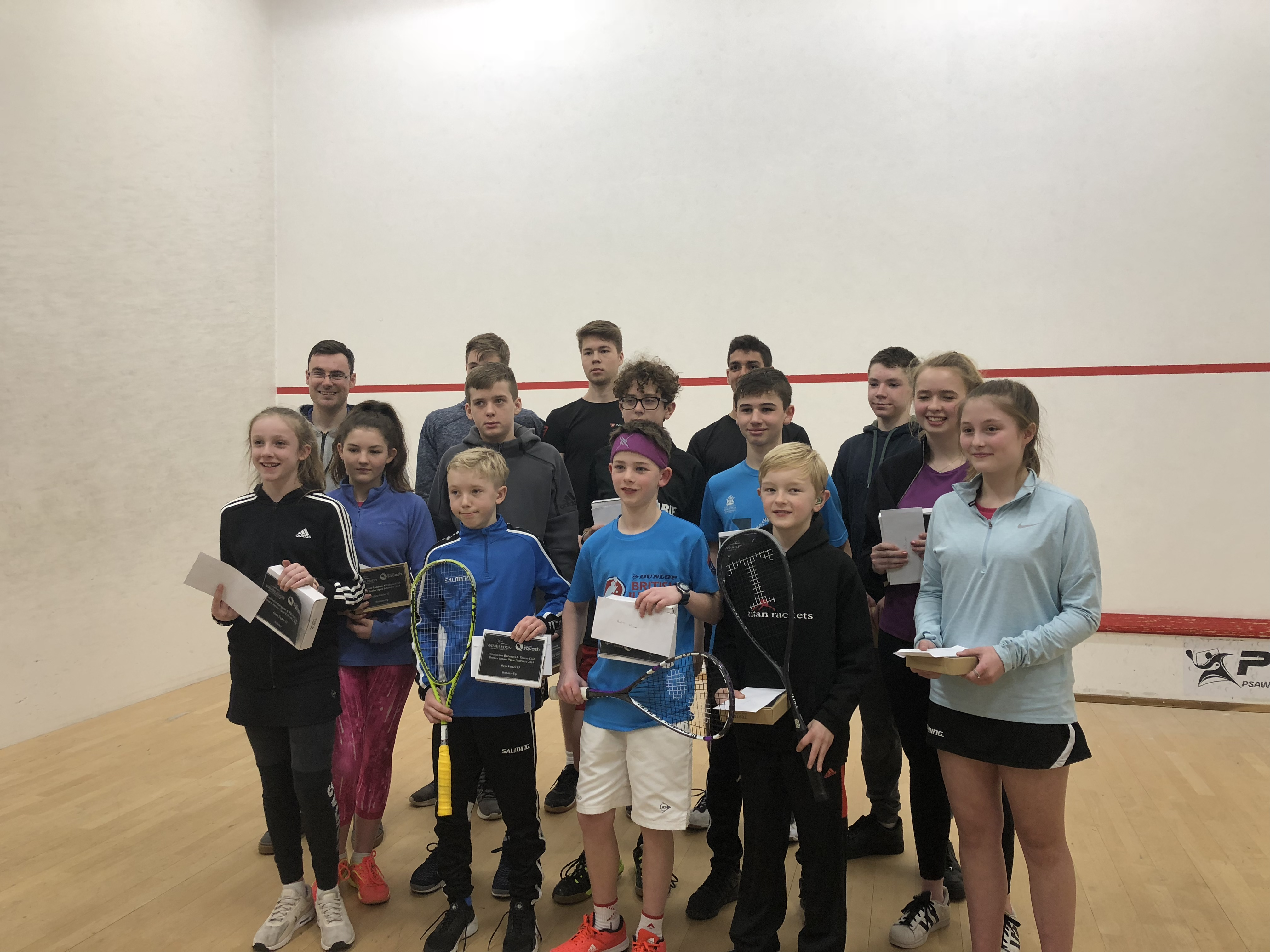 Record Turn Out for Middlesex Juniors