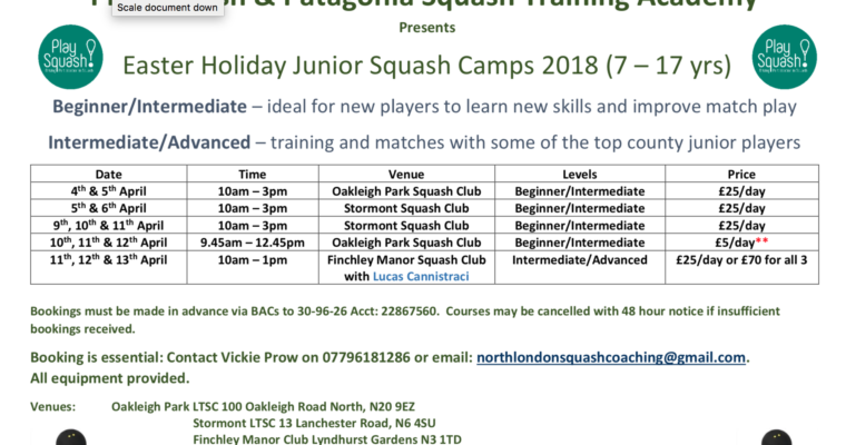 Easter Training Groups in North London