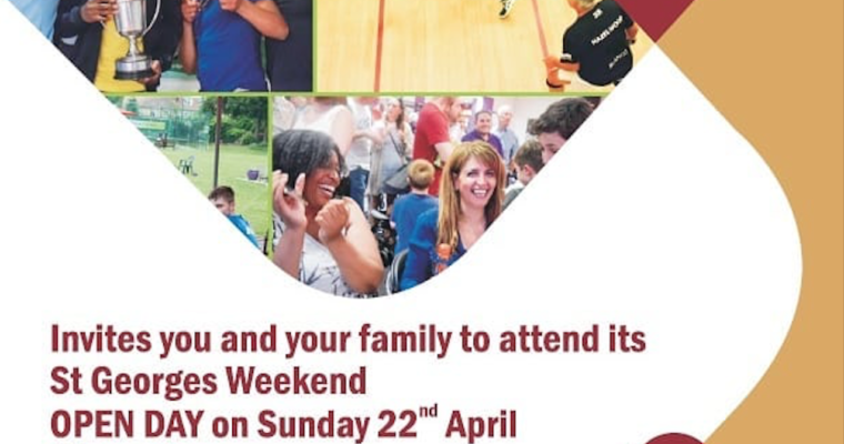 Open Day at Hazelwood Squash Club – 22nd April