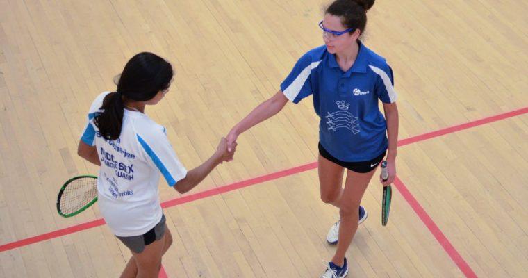 Middlesex Squash Junior Open 2018 – Sunday 3rd June 2018