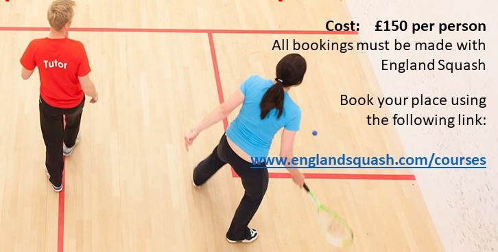 England Squash Coaching Course – 30th September