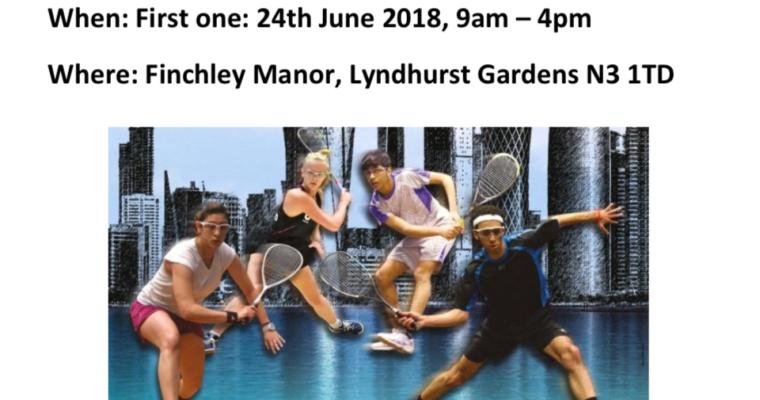 ***NEW*** Middlesex Junior Squash League