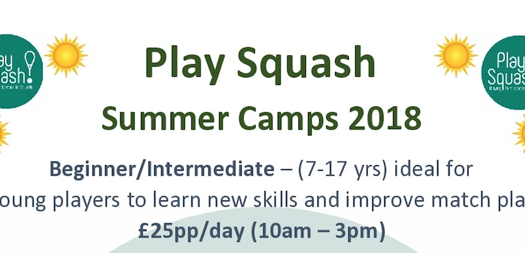 6 Squash Summer Camps Across The County