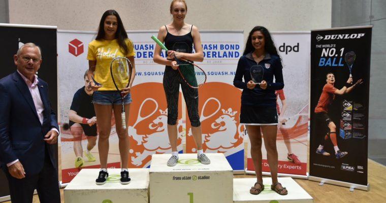 Margot Wins Under 17's Dutch Open