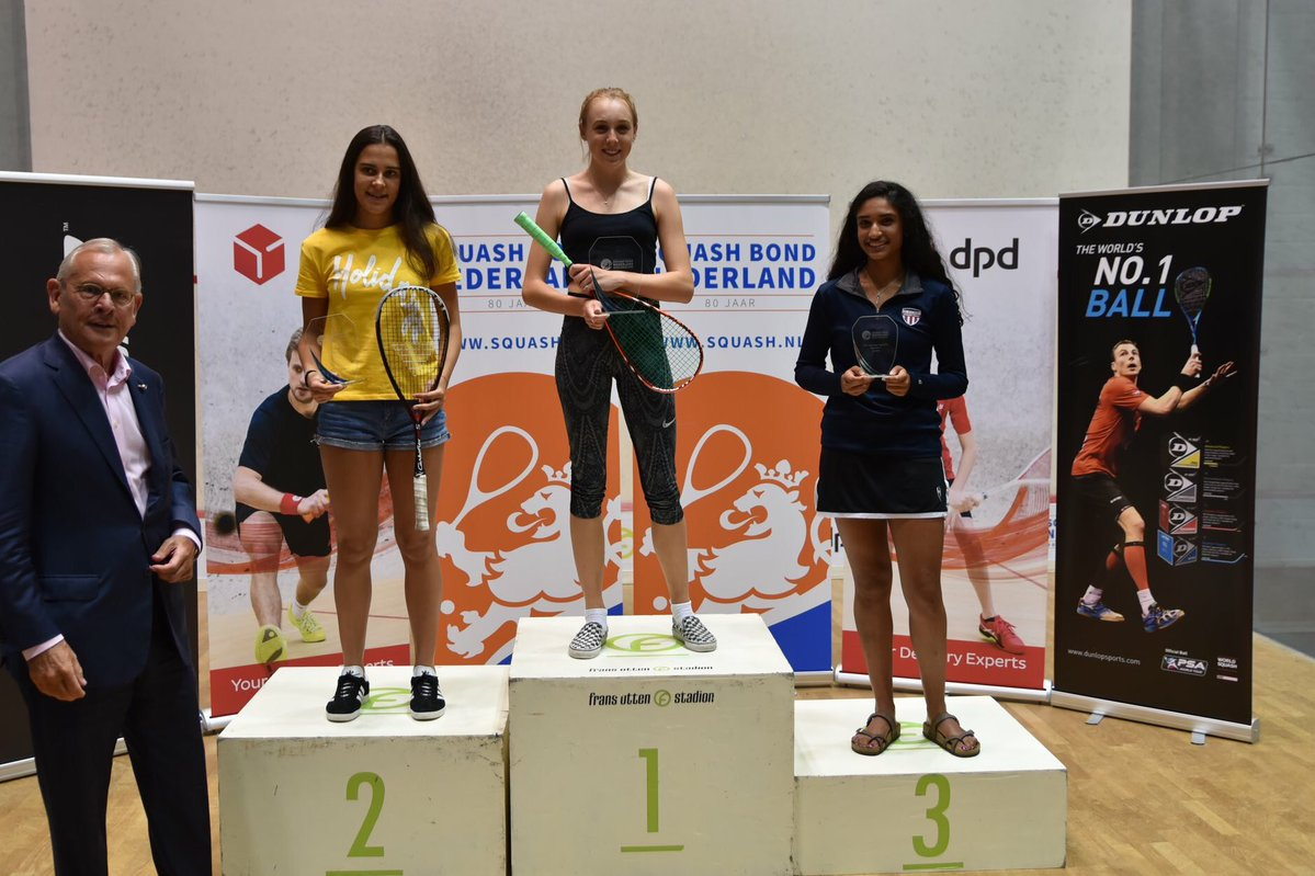 Margot Wins Under 17's Dutch Open