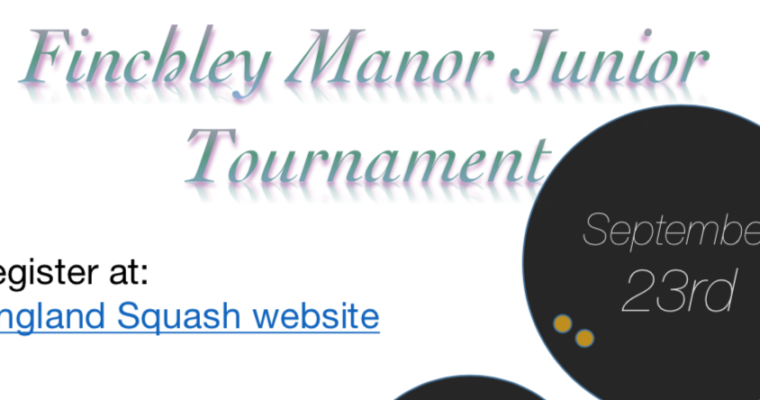 FM Cooper Tournament at Finchley Manor