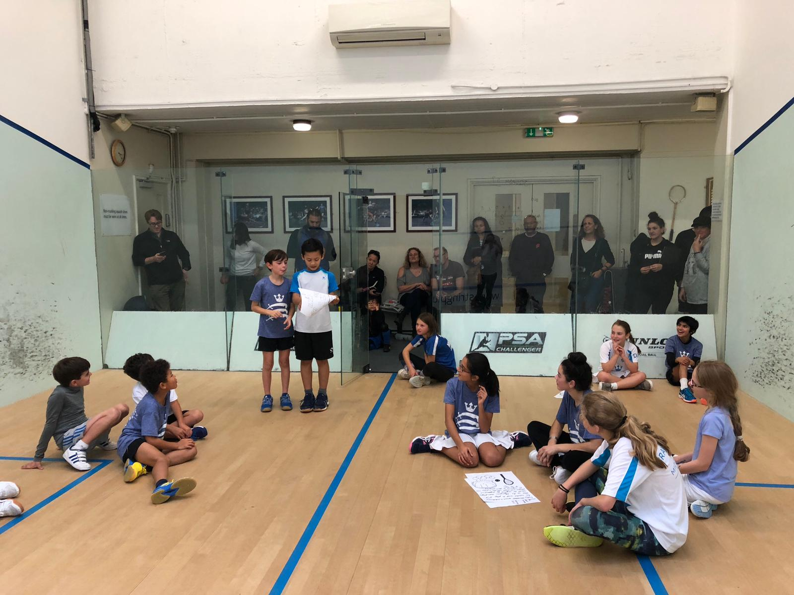 Middlesex Junior Squad – Team Building November 2018