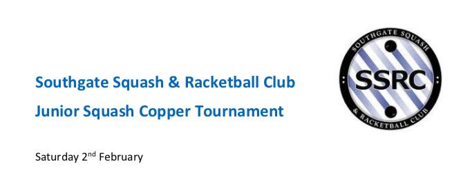 Southgate Junior Cooper Tournament