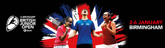 Middlesex Juniors Make Way to the British Junior Open (BJO) – Birmingham 2-6th Jan 19