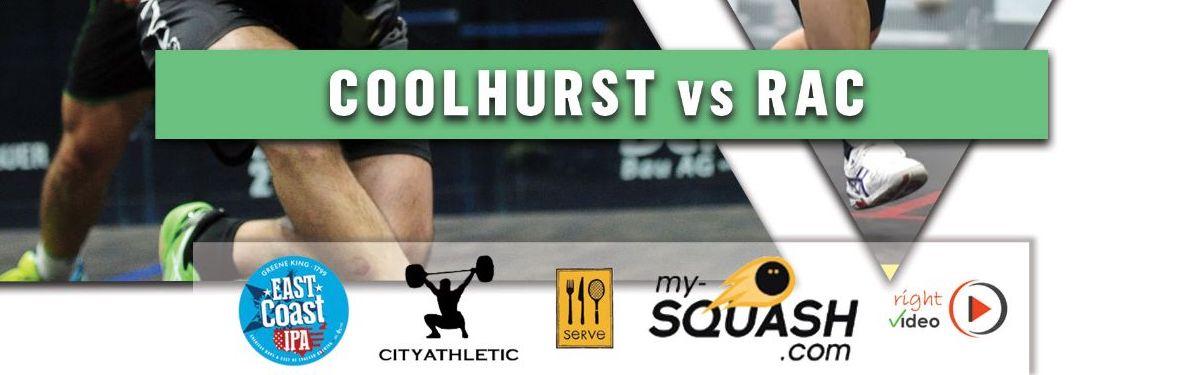 Premier Squash League – 8th March