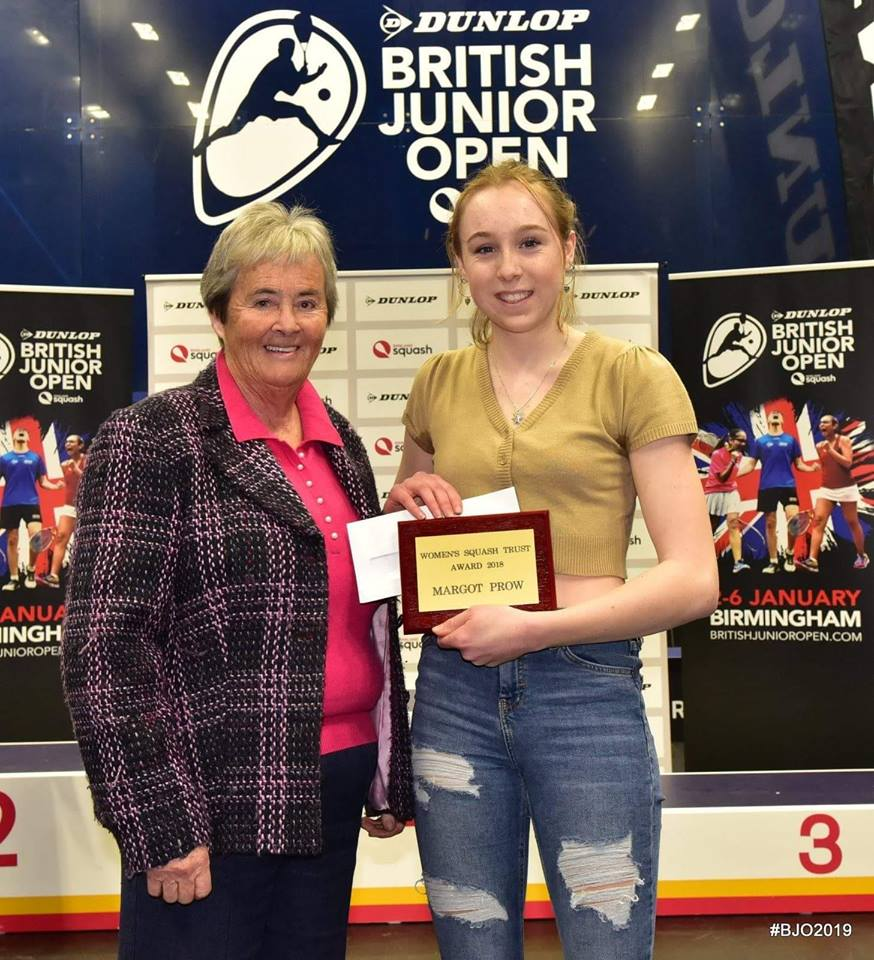 Margot - Womens Squash Award