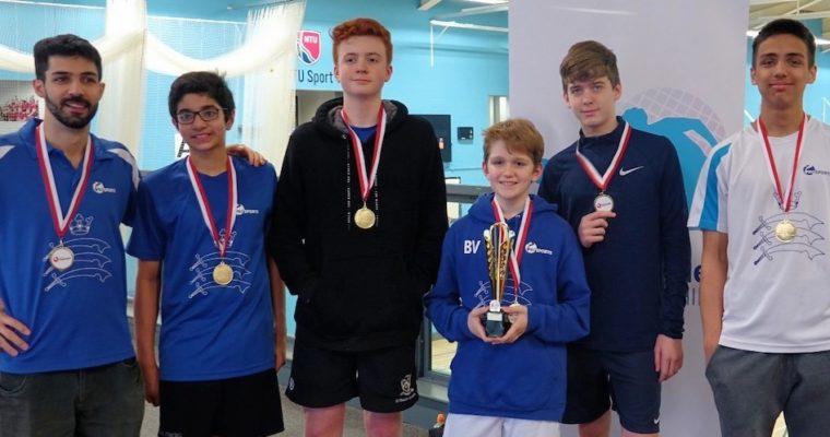 Middlesex Juniors England Squash ICC Finals 2019