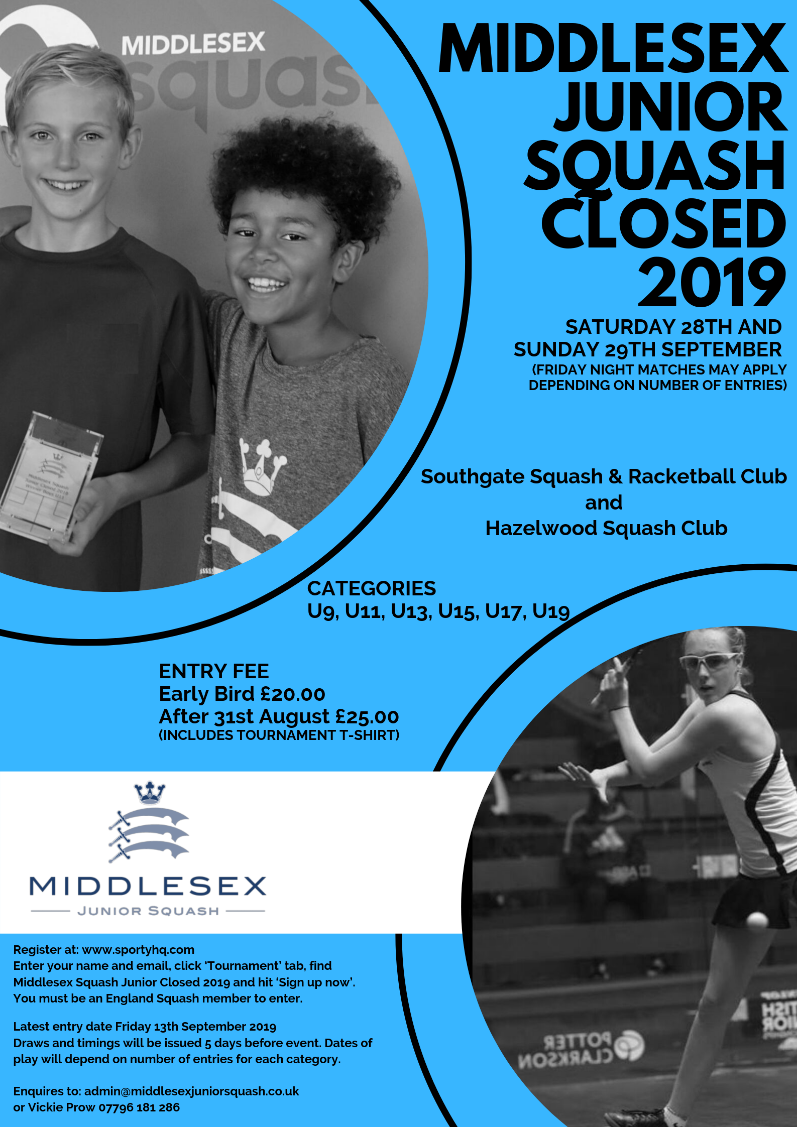 Middlesex Junior Closed 2019