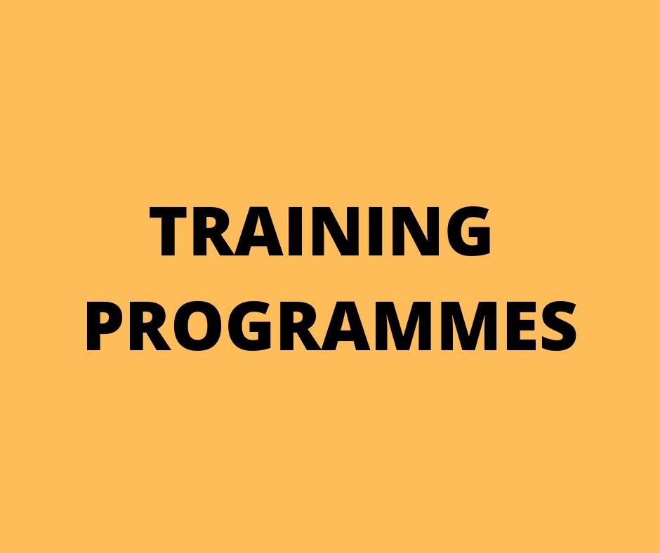 Training Programmes