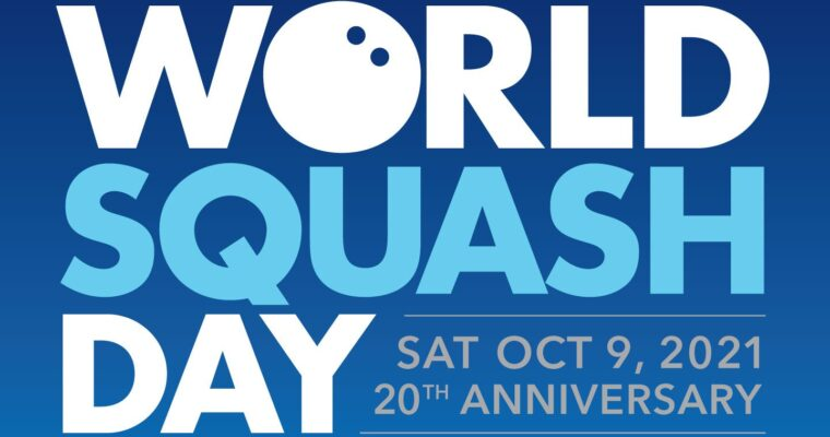 World Squash Day – 9th October 2021